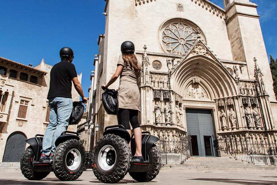 Vilafranca by Segway: Wine capital route (1h)