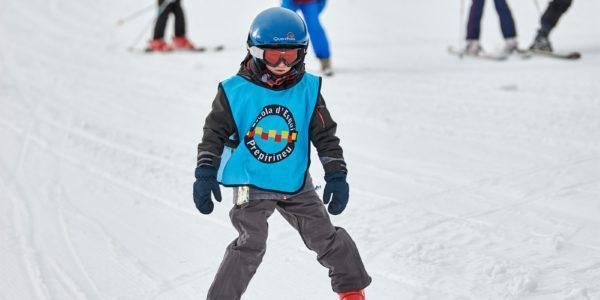 Bautizo de nieve (de 4 a 6 años) en Tavascan