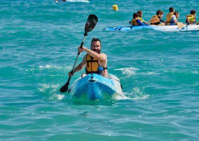 Alquiler de kayak K1 en Torredembarra
