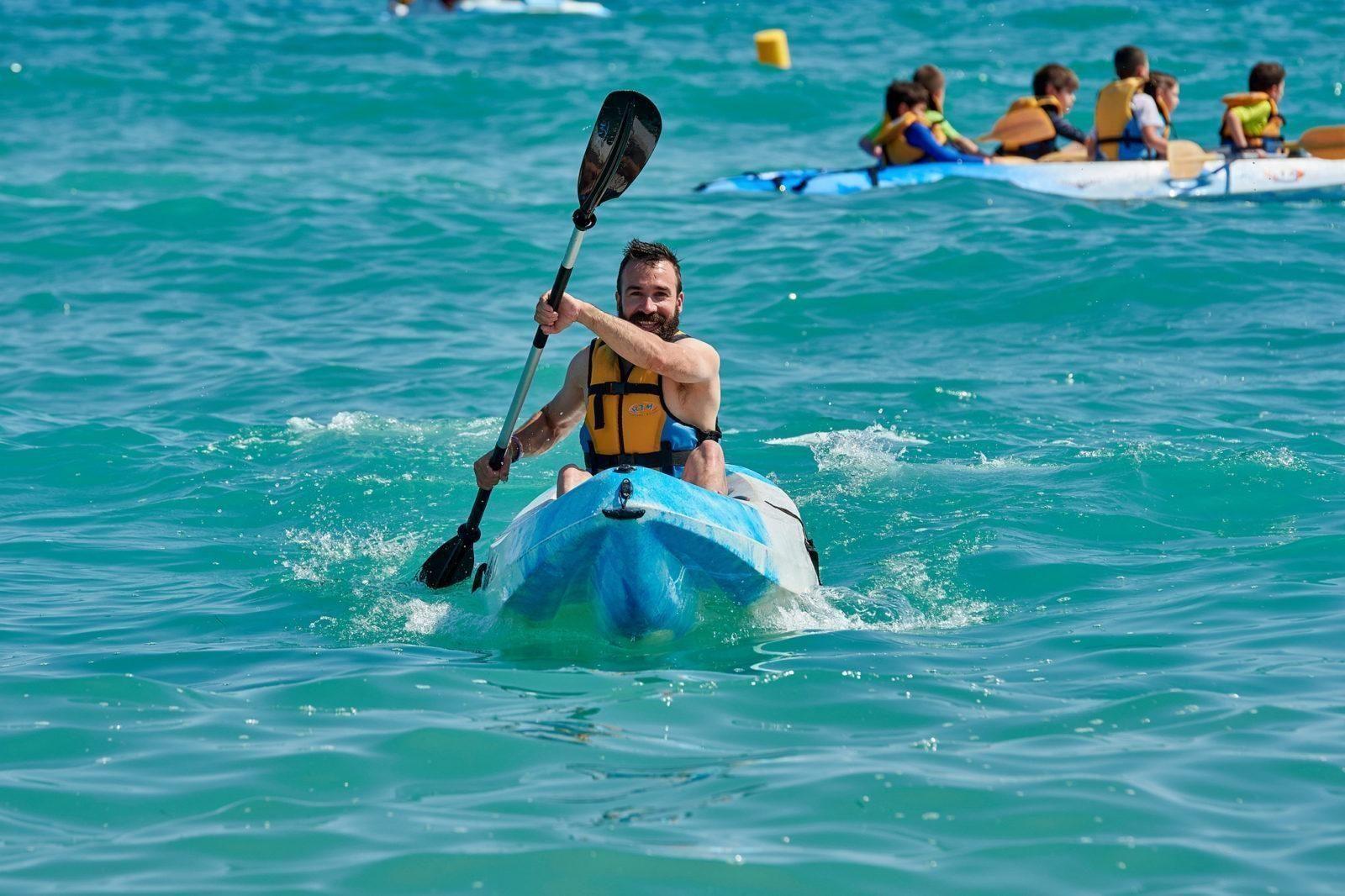 Location de kayak K1 à Tamarit