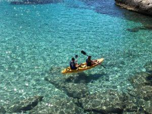 Guided Tour Open Kayak / Paddle Surf in Torredembarra1/2 day