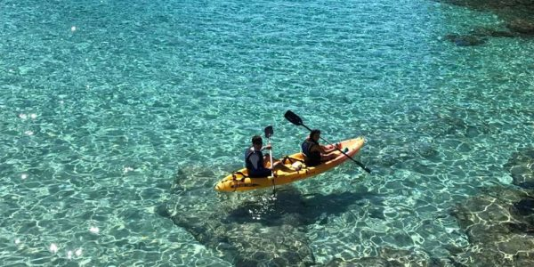 Ruta guiada Open Kayak / Paddle Surf a Torredembarra 1/2 dia