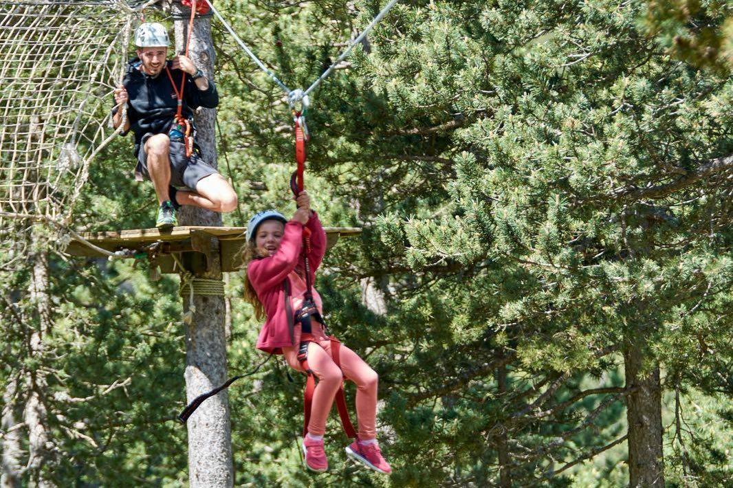 Parc acrobàtic d'aventura – Port del Comte