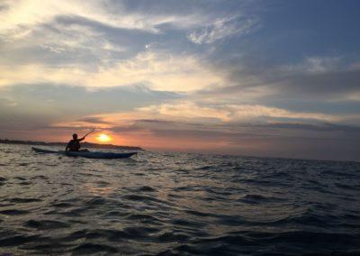 Sunrise kayak-esportec