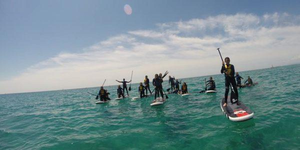 Guided Tour Sunset Kayak & Paddle Surf in Tamarit