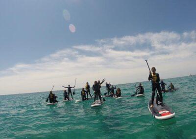 Ruta guiada Sunset Kayak & Paddle Surf a Torredembarra