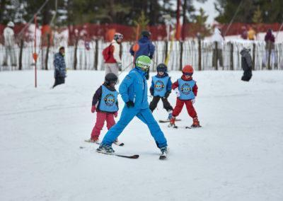 Bateig d'esquí top a Port del Comte. Per aprendre a esquiar amb Esportec